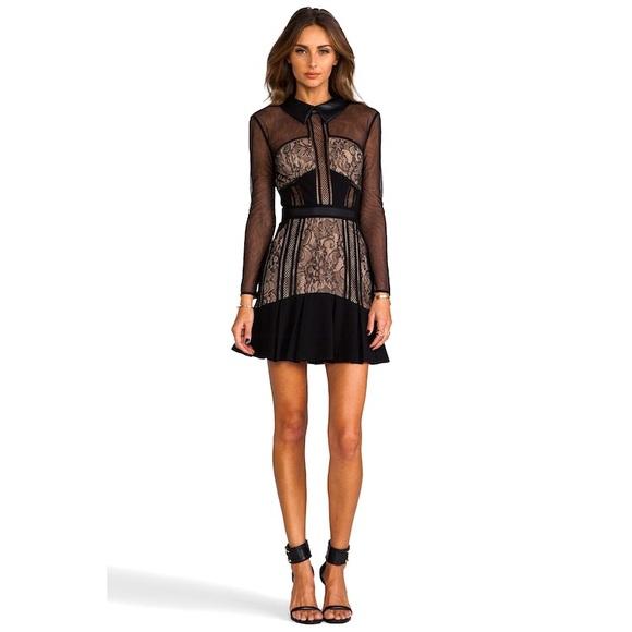 UO | COPE Black Lace Mini Dress